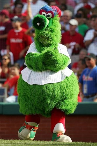 Mascot of the Phillies